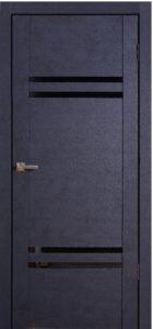 Межкомнатная дверь Дарио Бетон антрацит