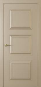 """Межкомнатная дверь Мадрид-3 эмаль """"Латте"""""""