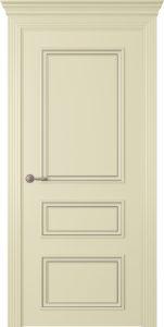 """Межкомнатная дверь Дрезден-3 эмаль """"Белый шелк"""""""