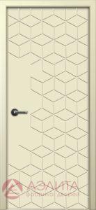Межкомнатная дверь Квадро ДГ