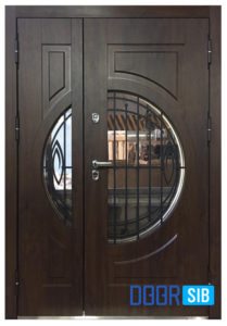 Входная дверь с терморазрывом Вариант-12