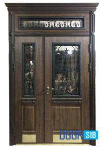 Входная дверь с терморазрывом Вариант-6
