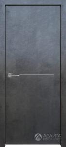 Межкомнатная дверь Стрикс с молдингом