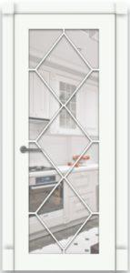 """Межкомнатная дверь Версаль-3 эмаль """"Белый"""""""